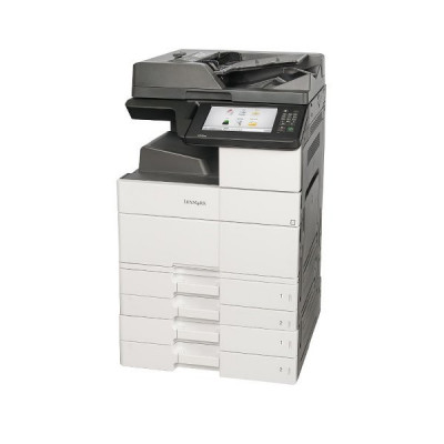 Imprimanta Multifunctionala LaserJet Monocrom, A3, Lexmark MX910de, 45 pagini/minut, 200.000 pagini lunar, 1200 x 1200 DPI, Duplex, USB, Network, foto