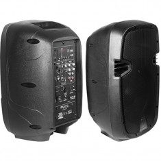 Boxa portabila activa, difuzor 20 cm, 150 W RMS, USB/SD/BT/VHF, control Vox