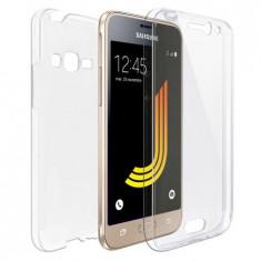 Husa Samsung J1 2016 Flippy Full Tpu 360 V2 Transparent
