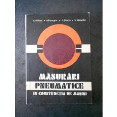 C. MILITARU - MASURARI PNEUMATICE IN CONSTRUCTIA DE MASINI