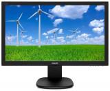 Monitor TFT-LCD LED Philips 23.6inch 243S5LJMB, Full HD (1920 x 1080), VGA, DVI, HDMI, DisplayPort, Boxe, Pivot, 1 ms (Negru)