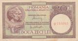 ROMANIA 20 LEI 1947, 1948, 1950 MF XF+