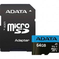 Card ADATA Premier microSDXC 64GB UHS-I U1 V10 25 Mbs
