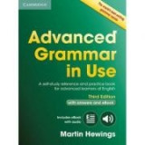 Advanced Grammar in Use Book with Answers: A Self-study Reference and Practice Book for Advanced Learners of English - (contine ebook interactiv) - Ma