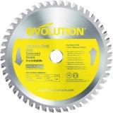 Cumpara ieftin Disc pentru fierastrau circular, taiere inox Evolution EVOS185TCT-48CS-7171, O185 x 25.4 mm, 48 dinti
