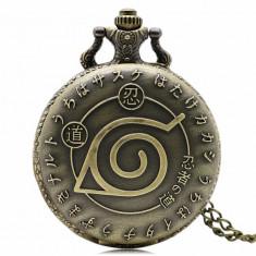 Ceas de buzunar Amine NARUTO