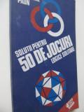 Solutii pentru 50 de jocuri logice solitare - Gheorghe Paun