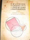 Culegere de exercitii si probleme de matematica de Grigore Gheba | arhiva Okazii.ro