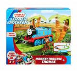 Thomas & Friends - Set de joaca motorizat Aventuri cu maimute, Fisher Price