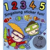 1. 2. 3. 4. 5 Singalong Sticker Book