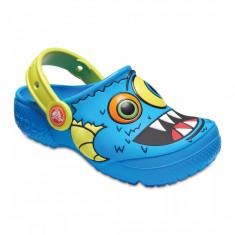 Saboți Băieți casual Crocs Crocs Boys' Fun Lab Clog, 24.5, 25.5, Albastru