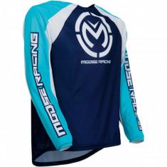 Tricou motocross Moose Racing M1 albastru/alb marime L Cod Produs: MX_NEW 29105038PE