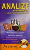 ANALIZE DE LABORATOR SI ALTE EXPLORARI DIAGNOSTICE de RAMONA BANICA, LAVINIU ANGHEL, 2007, CONTINE CD *