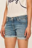 Pepe Jeans - Pantaloni scurti jeans Thrasher Bling