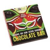 Cumpara ieftin Ciocolata cu nuci si cirese raw eco 35g