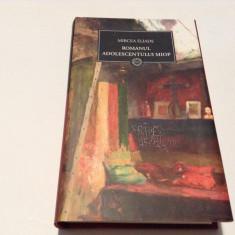 ROMANUL ADOLESCENTULUI MIOP/ GAUDEAMUS- Mircea Eliade--JURNALUL NATIONAL--RF17/2