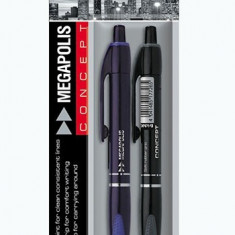 Set 2 pixuri Megapolis Concept retractabile