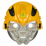 Masca de jucarie cu sunete si lumini, model Transformers, 22x20x12 cm
