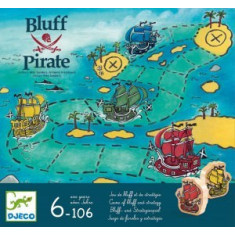 Joc de strategie Djeco Bluff pirat