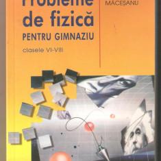 F.Macesanu-Probleme de fizica pentru gimnaziu VI-VIII