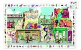 Puzzle observatie Street art, Djeco