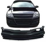 Grila fara semn Opel Astra H 5usi Sedan/Combi negru, ASTRA H - [2004 - 2013], JOM