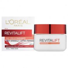 Crema De Zi Anti Rid L Oreal Paris Revitalift Radiance pentru piele terna 50 ml