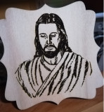 Icoana Isus individual specială gravată