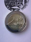 MONEDA FRANȚA 2 EURO 2020 Charles de Gaulle, Europa