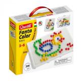 Joc Creativ Fanta Color Basic Quercetti Creatie Imagini Mozaic 100 Piese