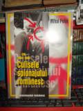 MIHAI PELIN - CULISELE SPIONAJULUI ROMANESC  ( D.I.E.  : 1955-1980 ) , 1997