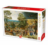 Cumpara ieftin Puzzle Pieter Brueghel the Younger - Christ Carrying the Cross, 1000 piese