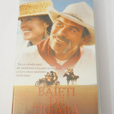 Caseta video VHS originala film tradus Ro - Baieti de Treaba