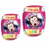 Set Protectie Minnie Mouse, Genunchiere, Stamp