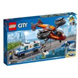LEGO® CITY - Furtul diamantelor cu politia aeriana 60209