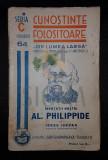 "IORDAN IORGU ""INVATATII NOSTRI, AL. PHILIPPIDE"" - SIMIONESCU I. (CUNOSTINTE FOLOSITOARE, SERIA C, ""DIN LUMEA LARGA"", NUMARUL 64)"