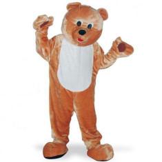 Mascota urs brun profesionala