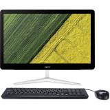 Sistem All in One Acer Aspire Z24-880 23.8 inch FHD Touch Intel Core i3-7100T 4GB DDR4 16GB DDR4 128GB SSD