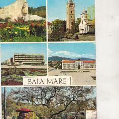 Bnk cp Baia Mare - Vedere - circulata, Printata
