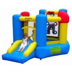 Happy Hop - Spatiu de joaca gonflabil pentru sarit Activity Center 6 in 1