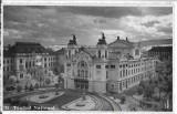 Carte postala Cluj teatrul national perioada regalista, Necirculata, Printata