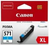 Cartus cerneala canon cli-571xl cyan capacitate 11ml pentru canon pixma