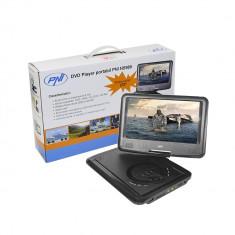 Resigilat : DVD Player PNI NS989 portabil cu ecran de 9 inch, slot card SD si USB