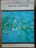 Texte Critice 30 - E.lovinescu ,303096