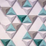Tapet 3D Hexagone L57504