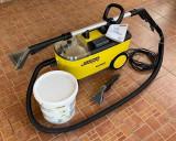 Karcher - aspirator profesional cu spalare + accesorii & detergent