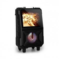 "Auna CenterStage 8, difuzoare mobile cu karaoke, display de 14.1"", 40 W, wireless microfon"
