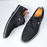 Pantofi casual barbati negri Eduardo