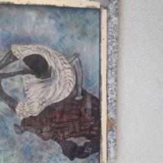 Pictura in ulei pe panza semnata, Scene gen, Impresionism