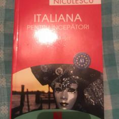 Italiana pentru incepatori Aida Ferencz